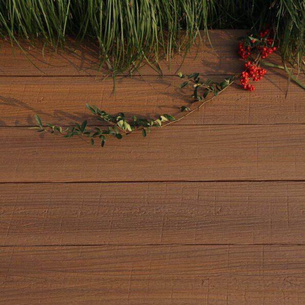 Composite Decking Board – Colour Teak – Exclusive Natural