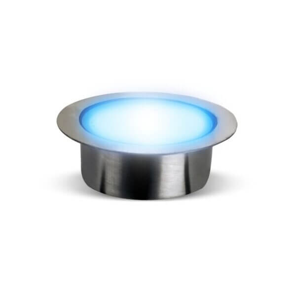 Blue Decking Lights For Gardens – Patio Deck Light  40mm