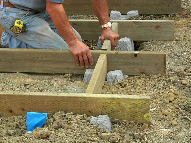 install decking on the ground