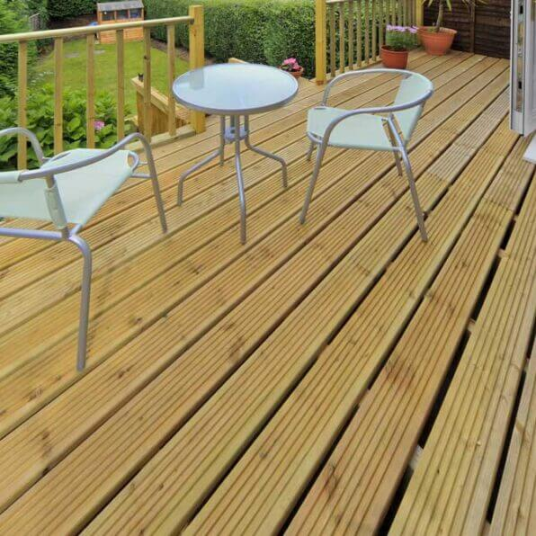Timber Deck | 150mm x 25mm | £2.87 Per Meter