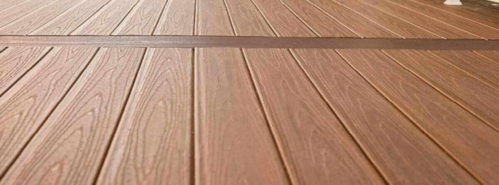 capped WPC decking