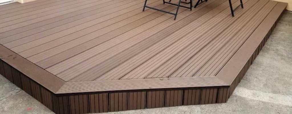 crown up or down decking boards