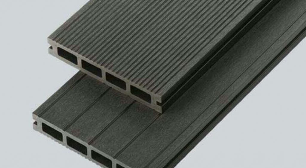 consider the grooved decking when buying decking