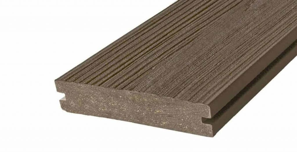grooved types of decking