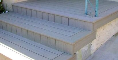 floating decking on concrete