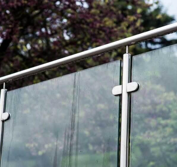 Post & Rail Glass Balustrade