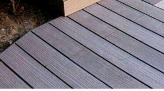 fill gap in decking