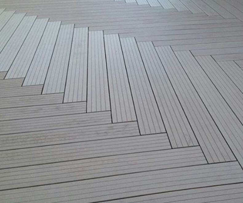 WPC decking is not the same as vinyl