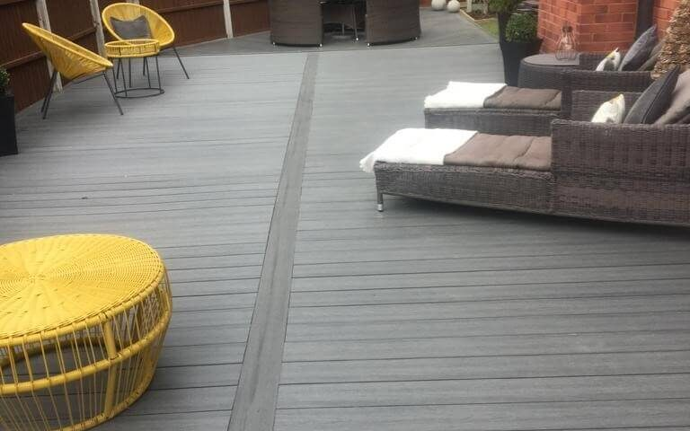 composite decking with 10 year warranty