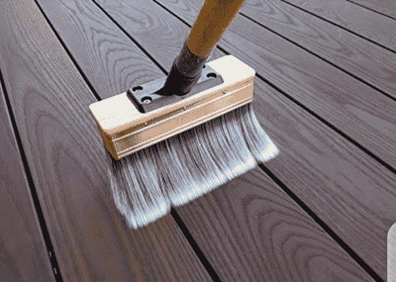 How to clean composite deck Without Pressure Washer