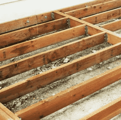 Can You Put Composite Decking on Wooden Joists?
