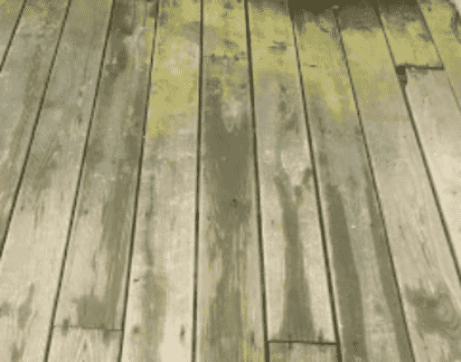 How to Remove Mould From Composite Decking