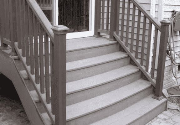 How to Build Steps With Composite Decking