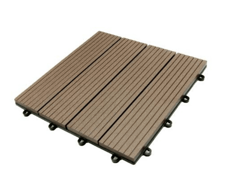 How to Lay Decking Tiles on Ground