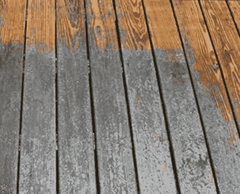 How to Remove Paint From Decking Boards